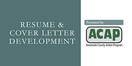 Resume & Cover Letter Development tickets