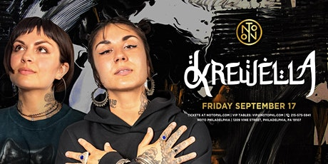 Krewella @ Noto Philly September 17th tickets