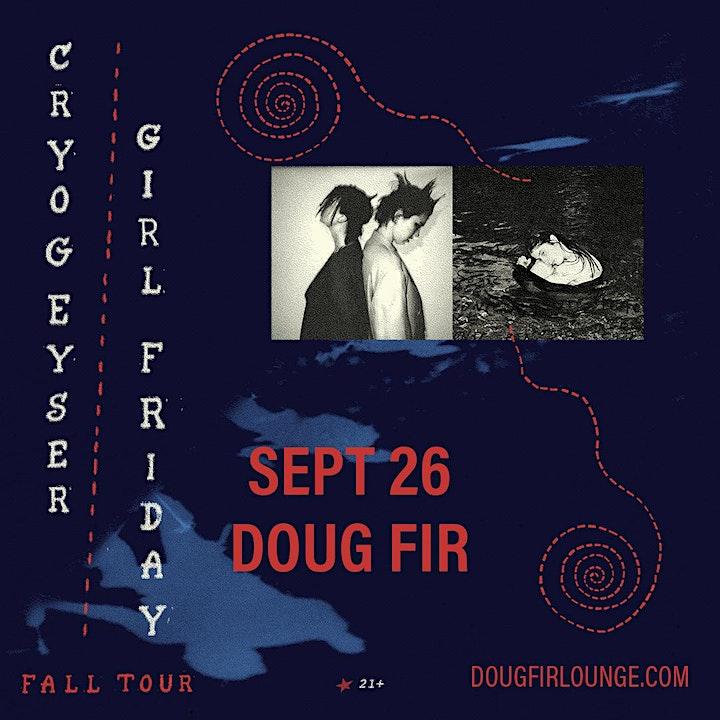 Cryogeyser + Girl Friday image