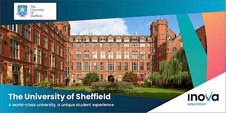 ¡Hola Chile! Estudia en el Reino Unido en la Universidad de Sheffield tickets