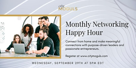 Monthly Networking Happy Hour for Entrepreneurs - September Edition tickets