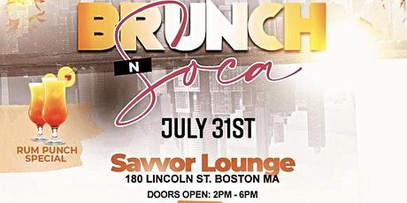 Brunch N' Soca tickets