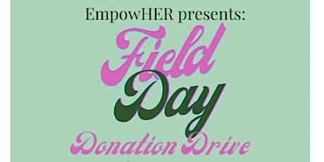 Field Day Donation Drive tickets