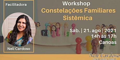 WORKSHOP CONSTELAÇÃO FAMILIAR SISTÊMICA. ingressos