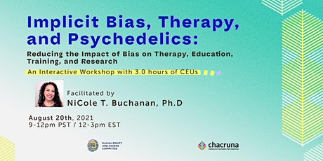 Implicit Bias and Racism in Therapy and Psychedelics tickets