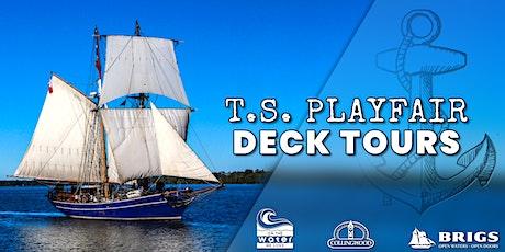 TS Playfair Deck Tours | Saturday tickets