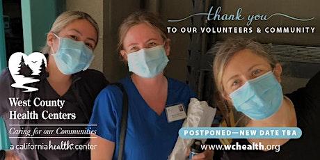 POSTPONED - WCHC Vaccine Clinic Volunteer Celebration tickets