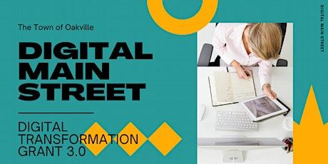 Digital Main Street: Digital Transformation Grant 3.0 tickets