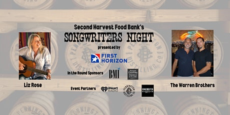 Second Harvest Songwriters Night tickets