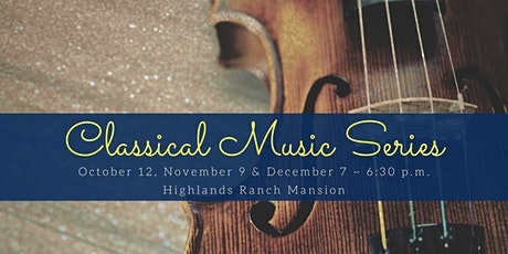October Classical Music Series: Music for Clarinet and Strings tickets