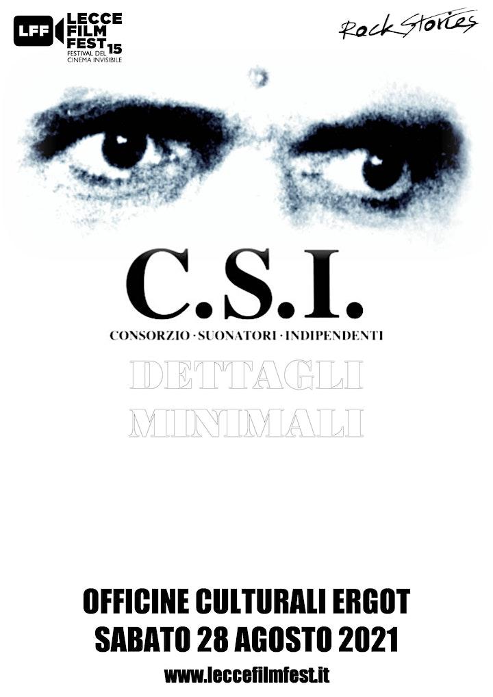 Immagine LECCE FILM FEST - CSI - 28 AGOSTO 2021