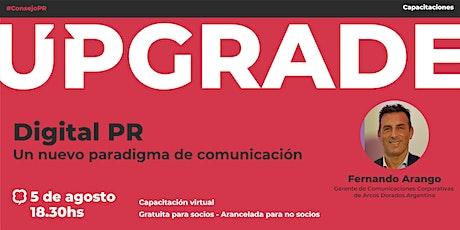 Digital PR: Un nuevo paradigma de comunicación entradas