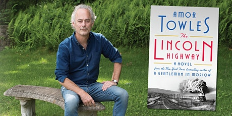 Virtual event  with Amor Towles in conversation with Ann Patchett tickets