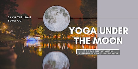 Yoga Under The Moon tickets