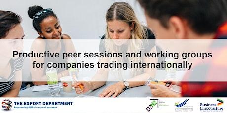 Nottinghamshire and Derbyshire 'International Trader' Peer Support tickets