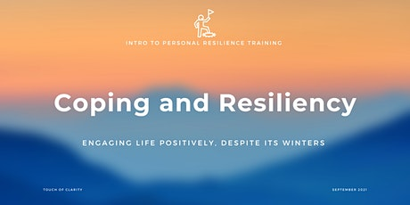 FREE Intro to Coping and Resiliency tickets
