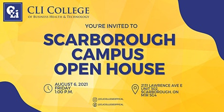 CLI College Scarborough Campus - Open House tickets