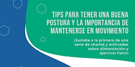 Tips para una buena postura & la importancia de mantenerse en movimiento entradas