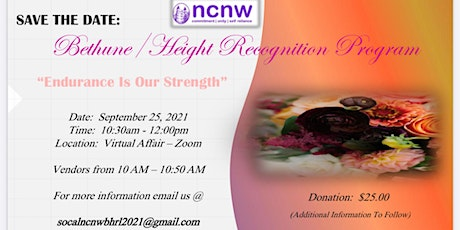 Bethune / Height Recognition Program tickets