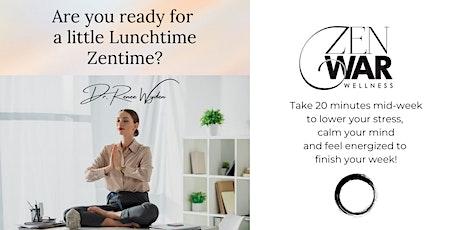 Zenwar Wellness presents Mindfulness Meditation w/ Dr. Renee Wyden tickets