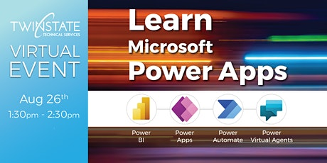 TSTS Virtual Event: Learn Microsoft Power Apps tickets