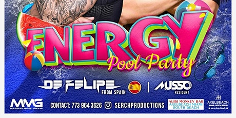 ENERGY POOL PARTY 1 tickets