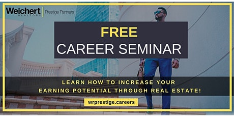 FREE Real Estate Career Seminar tickets