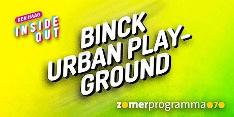 Binck Urban Playground – Videoclip opnemen tickets