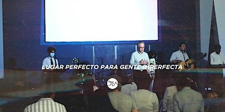 """Reunión 12:30 PM - Iglesia """"Dios Esta Aquí"""" boletos"""