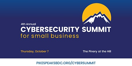 4th Annual Cybersecurity Summit for Small Business tickets