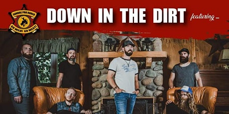 Down in The Dirt Cowboy Cabaret- Saturday August 7th- **NO RE-ENTRY tickets
