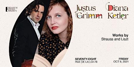 Justus Grimm & Diana Ketler tickets