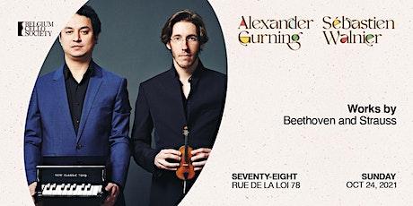 Sébastien Walnier & Alexander Gurning tickets