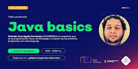 Java Basics. boletos