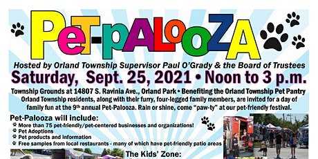 Orland Township's Pet Palooza 2021 tickets