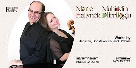 Marie Hallynck & Muhiddin Dürrüoğlu billets