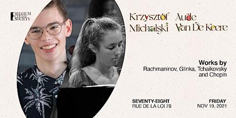 Krzysztof Michalski & Aude Van De Keere tickets