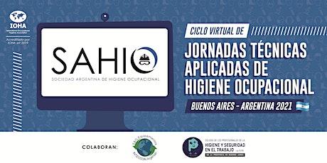 JORNADAS TECNICAS APLICADAS DE HIGIENE OCUPACIONAL entradas