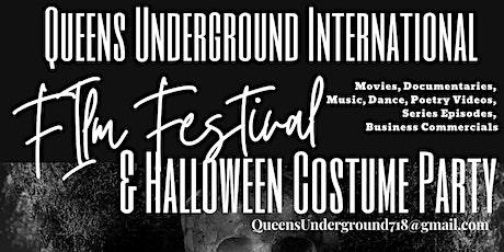 Queens Underground Black & Brown Film Festival  & Costume Party tickets