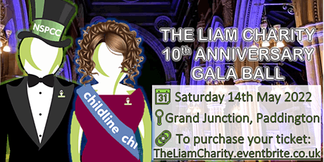 The Liam Charity Anniversary Ball tickets