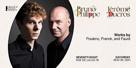 Bruno Philippe & Jerome Ducros tickets