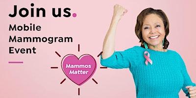 Mobile Mammogram Event