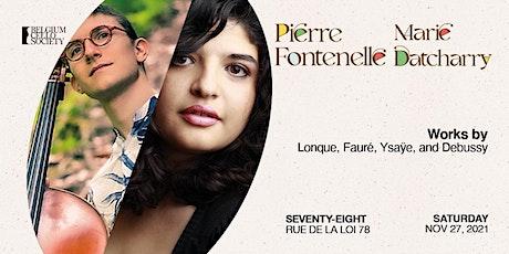 Pierre Fontenelle & Marie Datcharry tickets