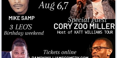 3 Leos Birthday Takeover Special guest Cory Zoo Miller tickets