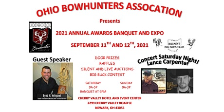 Ohio Bowhunters Association Annual Awards Banquet and Expo tickets