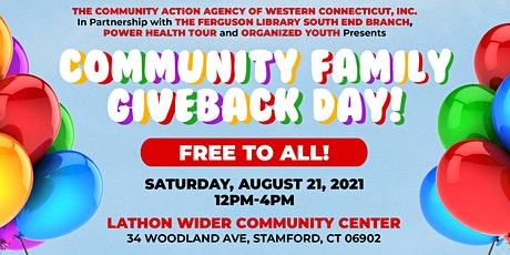 Community Family Giveback Day tickets