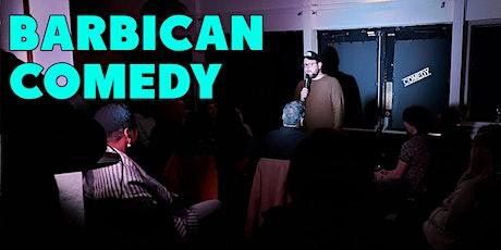 Barbican Comedy tickets