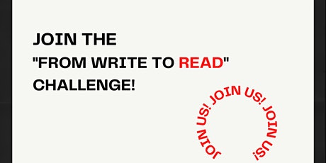 """From """"Write to Read"""" Challenge! tickets"""