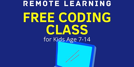 Free Coding Class for Kids tickets