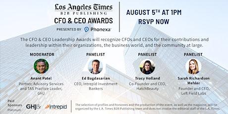 CFO & CEO Leadership Awards tickets